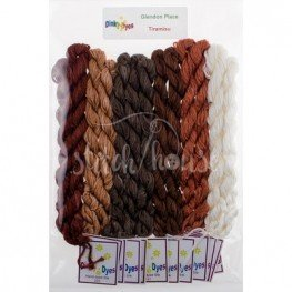 Комплект нитей Dinky Dyes Tiramisu Glendon Place