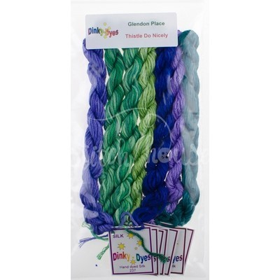 Комплект нитей Dinky Dyes Thistle Do Nicely Glendon Place