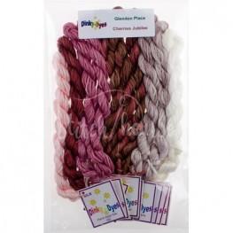 Комплект нитей Dinky Dyes Cherries Jubilee Glendon Place
