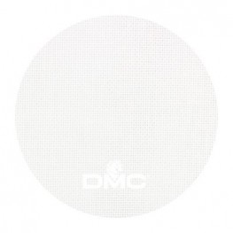 Ткань 28 ct DMC смесовая ткань 544А-Blanc (белый)