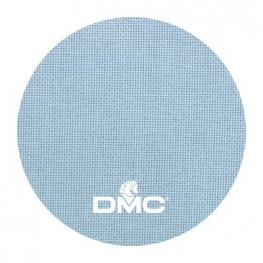 Ткань DMC 25 ct хлопковая DM 532-800 (голубой)
