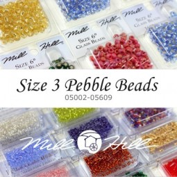 Бисер Mill Hill Pebble Beads Size 3 (05002-05609)