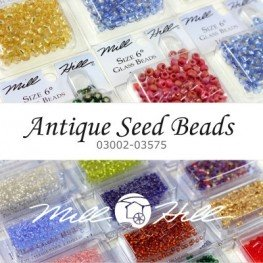 Бісер Mill Hill Antique Glass Seed Beads (03002-03575)
