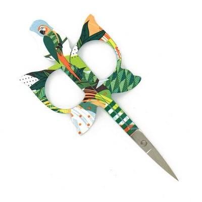 Ножницы для рукоделия Parrot Scissors Green Bohin