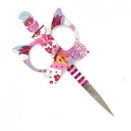 Ножиці для рукоділля Owl Scissors Pink Bohin