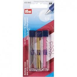 Запасные цветные грифели Prym 610842